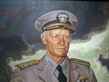 Fleet Admiral Chester William Nimitz, GCB, USN (February 24, 1885 – February 20, 1966) was a five-star admiral of the United States Navy. He held the dual command of Commander in Chief, United States Pacific Fleet (CinCPac), for U.S. naval forces and Commander in Chief, Pacific Ocean Areas (CinCPOA), for U.S. and Allied air, land, and sea forces during World War II.<br/><br/>  He was the leading U.S. Navy authority on submarines, as well as Chief of the Navy's Bureau of Navigation in 1939. He served as Chief of Naval Operations (CNO) from 1945 until 1947. He was the United States' last surviving Fleet Admiral.