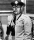 Curtis Emerson LeMay (November 15, 1906 – October 1, 1990) was a general in the United States Air Force and the vice presidential running mate of American Independent Party presidential candidate George Wallace in 1968.<br/><br/>  He is credited with designing and implementing an effective, but also controversial, systematic strategic bombing campaign in the Pacific theater of World War II. During the war, he was known for planning and executing a massive bombing campaign against cities in Japan. After the war, he headed the Berlin airlift, then reorganized the Strategic Air Command (SAC) into an effective instrument of nuclear war.